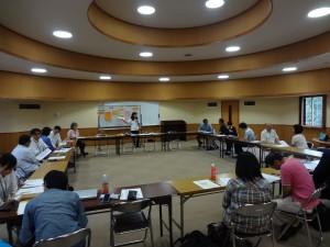 ふくしま連携復興センター平成25年度9月 定例会議「支援者のための支援を考えるワークショップ」①
